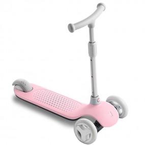 Детский самокат - кикборд Xiaomi Rice Rabbit Scooter розовый
