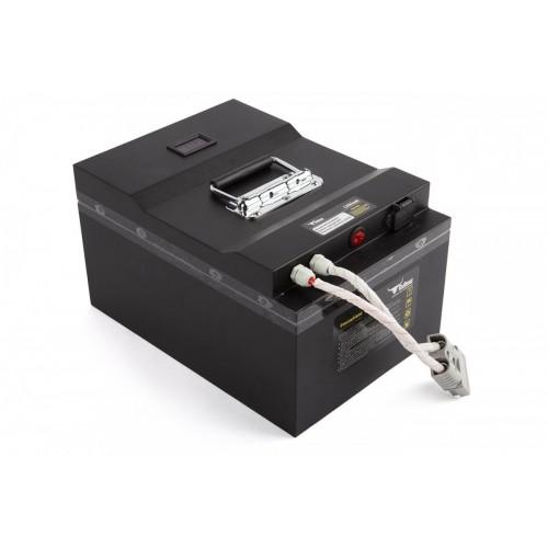 Литиевый тяговый аккумулятор RuTrike (18650 MnCoNi) 24V100AH