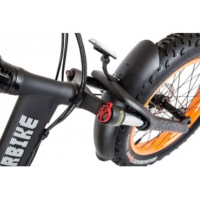 Электровелосипед Cyberbike Fat 500W черно-красный