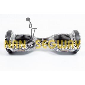 Гироскутер Smart Balance Wheel - граффити зебра