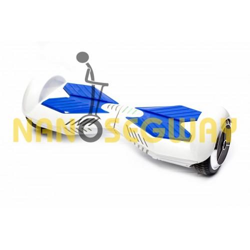 Гироскутер Smart Balance Transformer - бело-синий