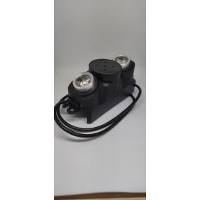 Передняя фара со звуковым сигналом для электросамоката
