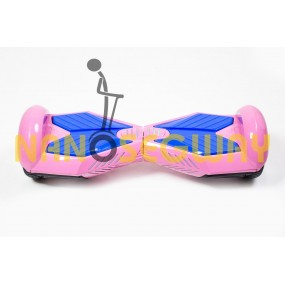 Гироскутер Smart Balance Transformer 6.5'' - розово-синий