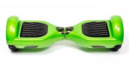 зеленый гироскутер для детей