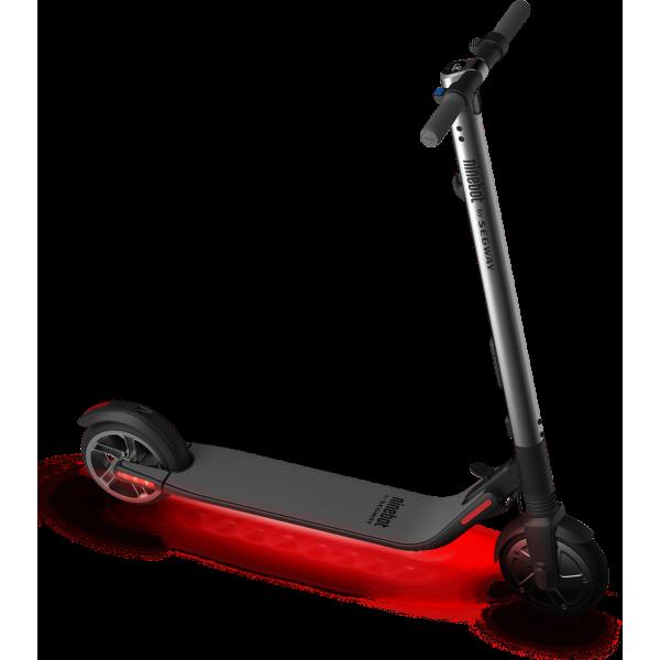 ninebot kickscooter es2 с красной подсветкой