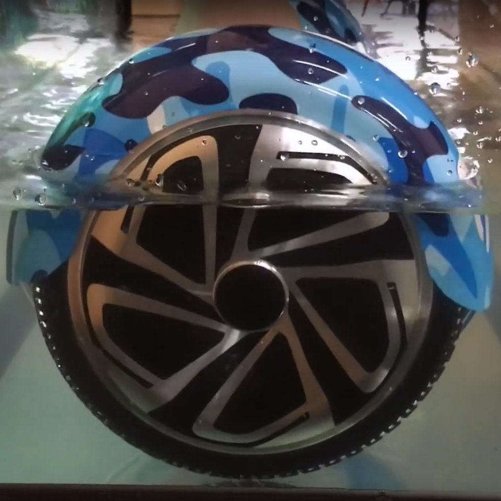 гироскутер в воде