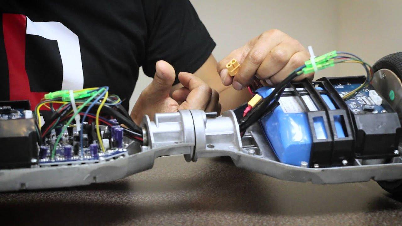 ремонт аккумулятора гироскутера