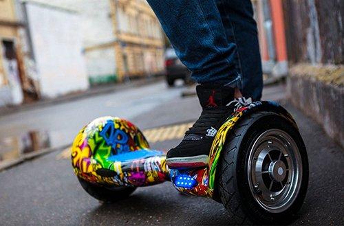 гироскутер на улице