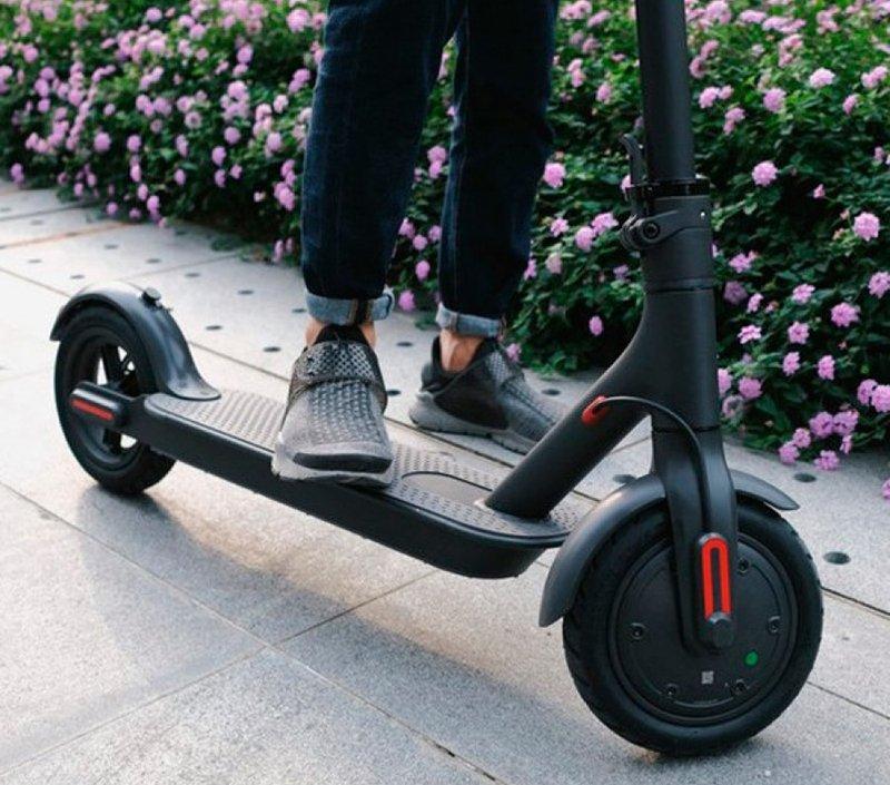 черный электросамокат xiaomi mijia electric scooter