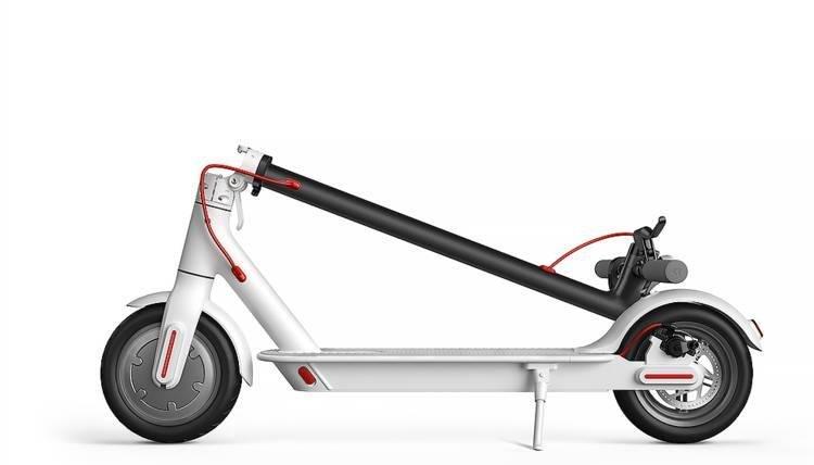 складной электросамокат xiaomi mijia electric scooter